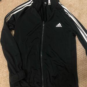 Black adidas zip up jacket